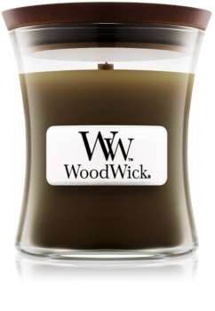 Woodwick Oudwood scented candle Wooden Wick