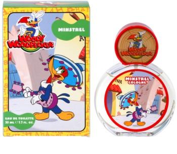 Woody Woodpecker Minstrel Eau de Toilette para crianças 50 ml