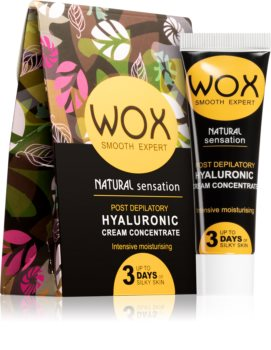 WOX Natural Sensation intenzíven hidratáló koncentrátum szőrtelenítés után