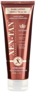 Xen-Tan Ultra Dark leite autobronzeador para o corpo e rosto extra escuro