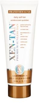 Xen-Tan Light crème auto-bronzante corps et visage pour un bronzage progressif