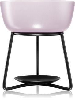 Yankee Candle Pebble lampe aromatique en céramique (Grey Lilac)