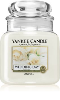 Yankee Candle Wedding Day dišeča sveča