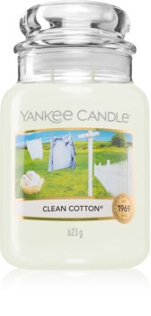 Yankee Candle Clean Cotton vela perfumada