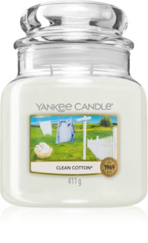 Yankee Candle Clean Cotton ароматна свещ