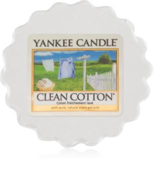 Yankee Candle Clean Cotton tartelette en cire