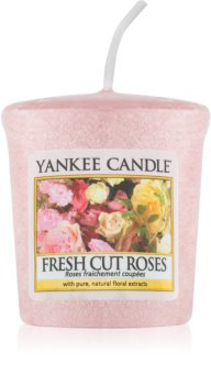 Yankee Candle Fresh Cut Roses lumânare votiv