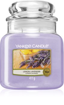 Yankee Candle Lemon Lavender vela perfumada