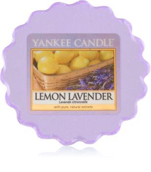Yankee Candle Lemon Lavender cera per lampada aromatica