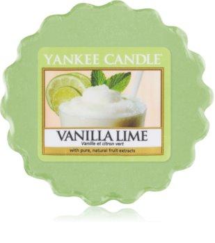 Yankee Candle Vanilla Lime vosek za aroma lučko