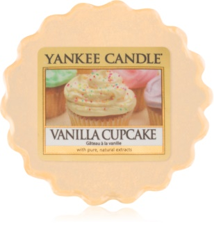 Yankee Candle Vanilla Cupcake cera para lámparas aromáticas