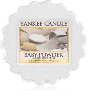 Yankee Candle Baby Powder cera para lámparas aromáticas