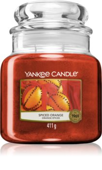 Yankee Candle Spiced Orange scented candle