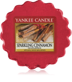 Yankee Candle Sparkling Cinnamon cera derretida aromatizante