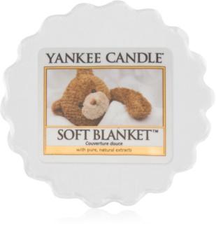 Yankee Candle Soft Blanket vaxsmältning