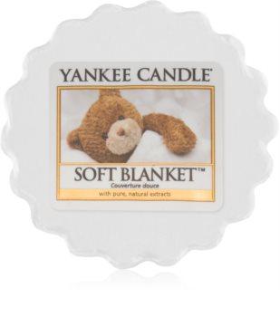 Yankee Candle Soft Blanket vosek za aroma lučko