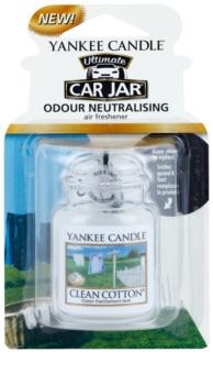 Yankee Candle Clean Cotton ambientador de coche para ventilación de suspensión