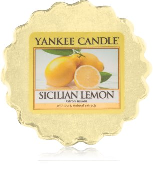 Yankee Candle Sicilian Lemon wachs für aromalampen