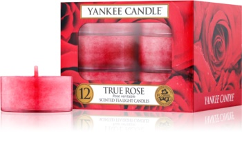 Yankee Candle True Rose vela de té 12 x 9,8 g