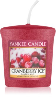 Yankee Candle Cranberry Ice votive candle