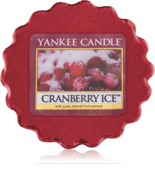 Yankee Candle Cranberry Ice duftwachs für aromalampe