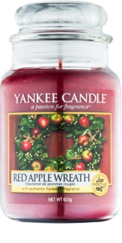 Yankee Candle Red Apple Wreath vela perfumada Classic grande