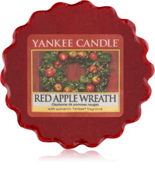 Yankee Candle Red Apple Wreath vosak za aroma lampu