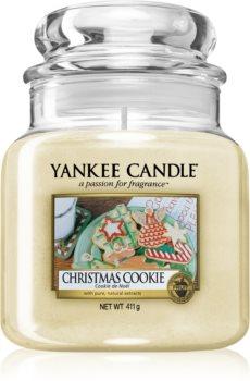 Yankee Candle Christmas Cookie vonná sviečka 411 g Classic stredná