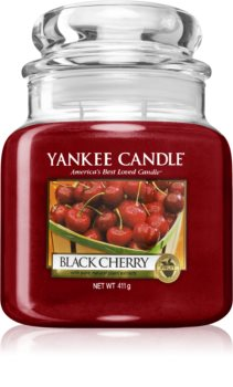 Yankee Candle Black Cherry vela perfumada