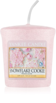Yankee Candle Snowflake Cookie mala mirisna svijeća bez staklene posude