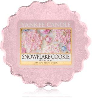 Yankee Candle Snowflake Cookie cera para lámparas aromáticas