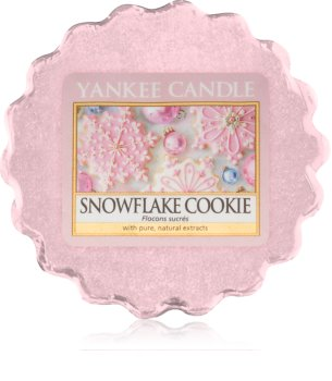 Yankee Candle Snowflake Cookie κερί για αρωματική λάμπα