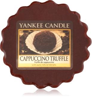 Yankee Candle Cappuccino Truffle cera derretida aromatizante