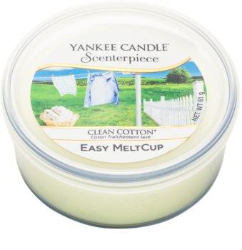 Yankee Candle Scenterpiece  Clean Cotton cire pour brûleur à tartelette électrique