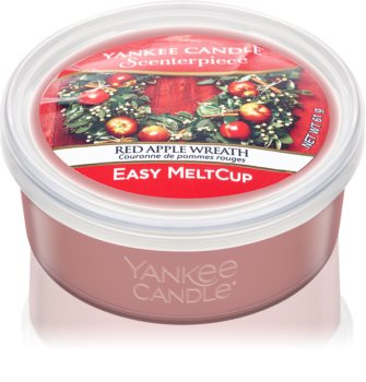 Yankee Candle Red Apple Wreath wax for electric wax melter