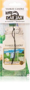 Yankee Candle Clean Cotton vonná auto visačka
