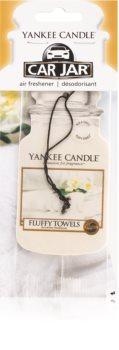 Yankee Candle Fluffy Towels dišeči obesek za v avto za obešanje
