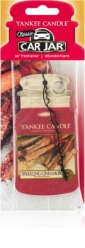 Yankee Candle Sparkling Cinnamon vonná auto visačka