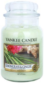 Yankee Candle Lemongrass & Ginger vela perfumada Classic grande