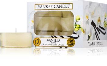 Yankee Candle Vanilla fyrfadslys