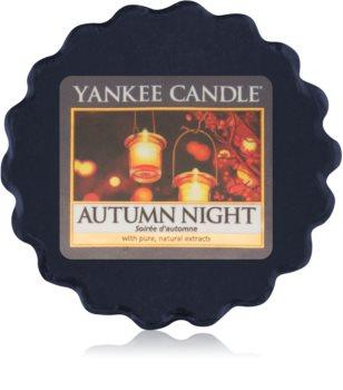 Yankee Candle Autumn Night cera derretida aromatizante