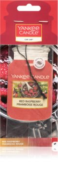 Yankee Candle Red Raspberry hanging car air freshener