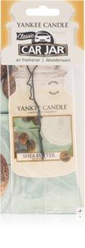 Yankee Candle Shea Butter dišeči obesek za v avto Classic