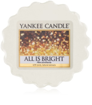 Yankee Candle All is Bright wachs für aromalampen