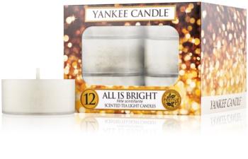 Yankee Candle All is Bright čajová svíčka