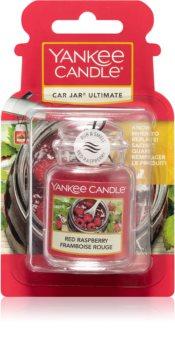 Yankee Candle Red Raspberry car air freshener hanging