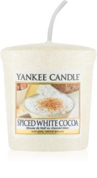 Yankee Candle Spiced White Cocoa vela votiva