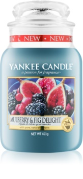Yankee Candle Mulberry & Fig illatos gyertya