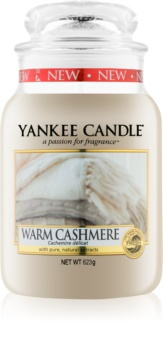 Yankee Candle Warm Cashmere scented candle Classic Large