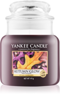 Yankee Candle Autumn Glow candela profumata Classic media